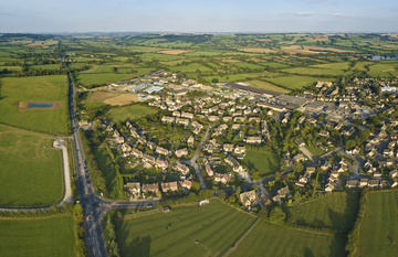 LD Stock Housing in countryside photo